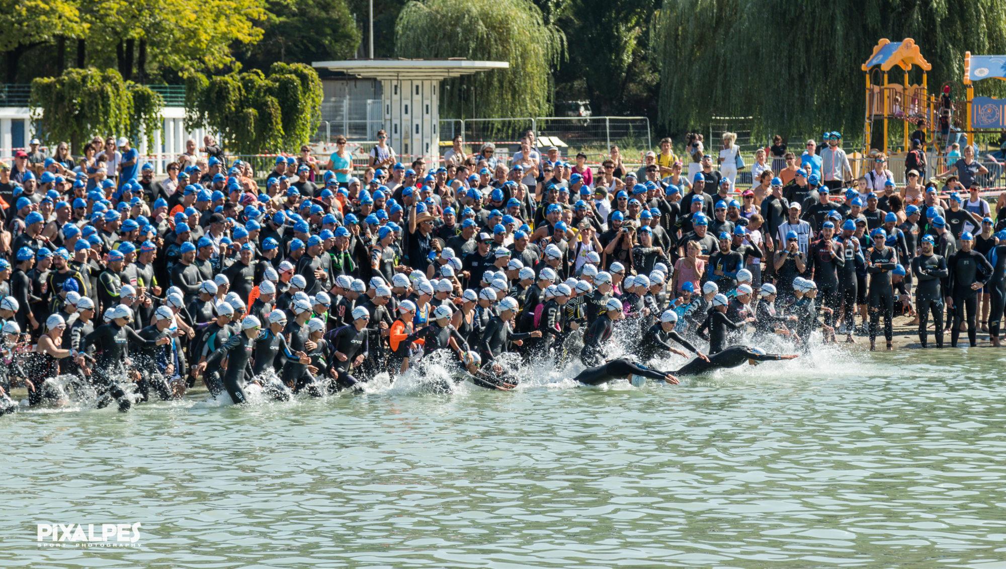 Le Triathlon d'Aix les Bains